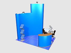 Выставочный стенд на 6 м2