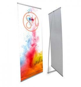 L-banner баннерный стенд