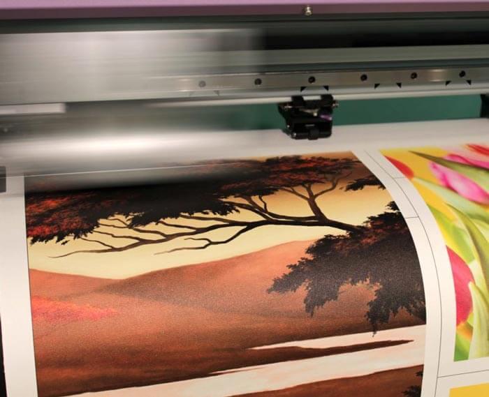 Интерьерная печать на холсте